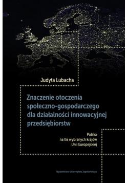 Znaczenie otoczenia społeczno-gospodarczego..