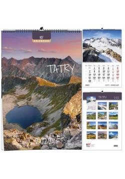 Kalendarz 2022 B3 13 plansz Tatry