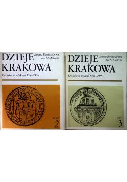 Dzieje Krakowa Tom 2 i 3