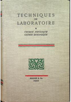 Techniques de laboratoire