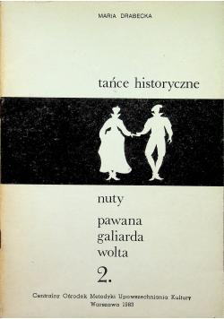 Tańce historyczne Nuty pawana galiarda wolta 2