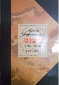 Dzienniki powojenne 1945 1965 Tom I