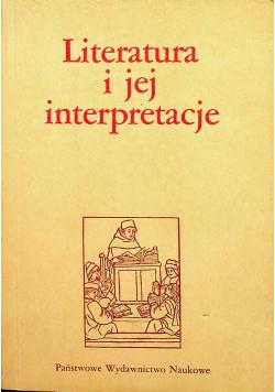 Literatura i jej interpretacja