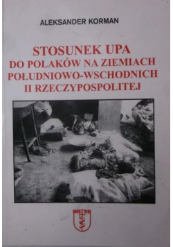 Stosunek UPA do Polaków na ziemiach południowo wschodnich II Rzeczypospolitej