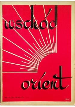 Wschód Orient numer 2 - 3 1936r