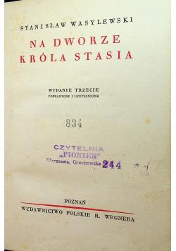 Na dworze króla Stasia 1935 r.