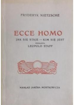 Ecce Homo Jak się staje kim się jest