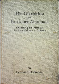 Die geschichte des breslauer alumnats 1935r