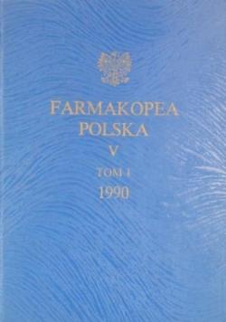 Farmakopea Polska V Tom I