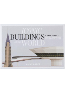 Gra karciana Memory. Famous Buildings