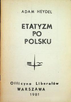 Etatyzm po Polsku