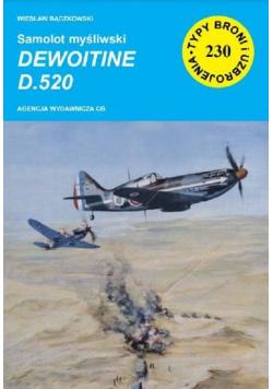 Samolot myśliwski Dewoitine D.52