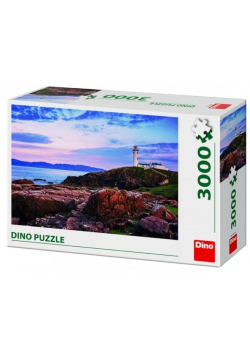 Puzzle 3000 Latarnia morska nad klifem