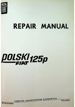 Repair Manual Polski Fiat 125p