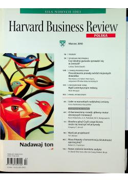 Harvard Business Review Polska nr 3