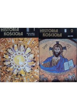Historia kościoła tom I i II