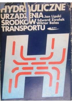 Hydrauliczne urządzenia środków transportu