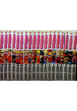 Naruto 19 tomów