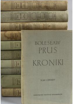 Prus Kroniki 11 tomów