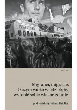 Migranci migracje