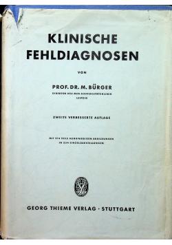 Klinische fehldiagnosen
