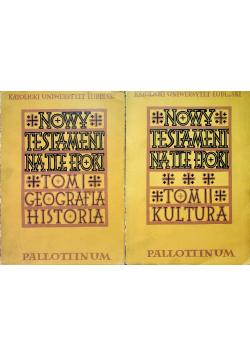 Nowy Testament na tle epoki tom I i II