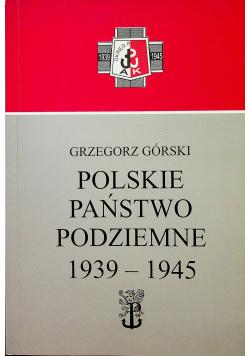Polskie państwo podziemne 1939 45