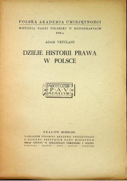 Dzieje historii prawa w Polsce 1948 r.