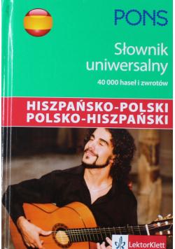 Pons Słownik uniwersalny hiszpańsko polski polsko hiszpański