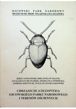 Chrząszcze coleoptera ojcowskiego parku narodowego i terenów ościennych