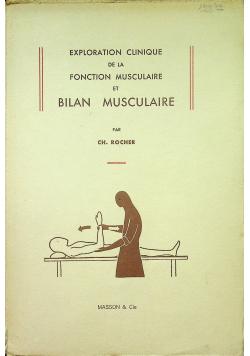 Exploration clinique de la fonction musculaire et Bilan Musculaire