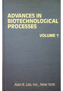 Advances in biotechnological processes volume 1