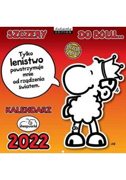 Kalendarz 2022 ścienny Classic Sheep Szczery