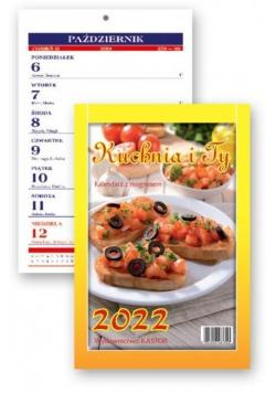 Kalendarz 2022 tygodniowy z magnesem Kuchnia i Ty