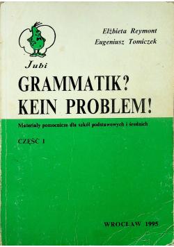 Grammatik Kein Problem