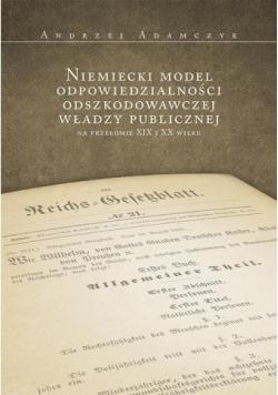 Niemiecki model odpowiedzialności władzy publicznej