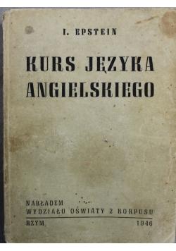 Kurs języka angielskiego 1946 r.