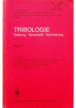 Tribologie Reibung verschleiss schmierung Band 7