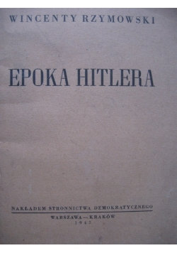 Epoka Hitlera 1945 r.