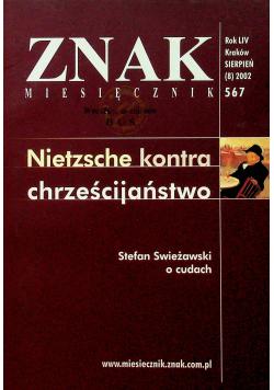 Znak nr 567 Nietzsche kontra chrześcijaństwo