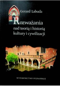 Rozważania nad teorią i historią kultury i cywilizacji