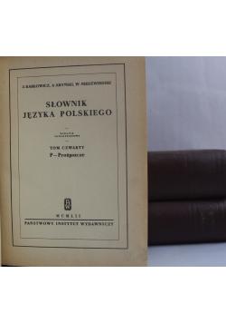 Karłowicz Słownik języka polskiego reprinty z 1912r 3 tomy