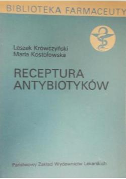 Receptura antybiotyków