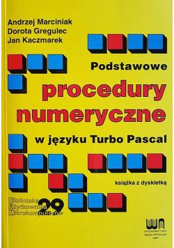 Podstawowe procedury numeryczne w języku Turbo Pascal