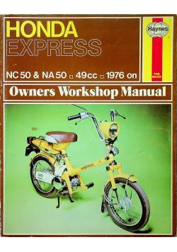 Honda Express Owners Workshop Manual