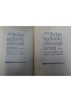 Atlas techniki chirurgicznej Tom I i II