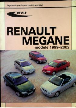 Renault Megane modele 1999 2002