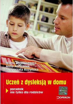 Uczeń z dysleksją w domu