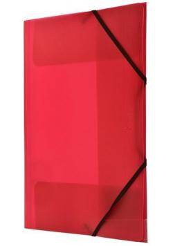 Teczka z gumką nar. A4 czerwona BT624-C