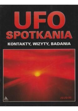 Ufo spotkania kontakty wizyty badania